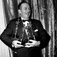 Walt Disney won how many Oscars in 1954?!