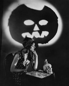 Myrna Loy, c.1930s  via Vintage Everyday: Vintage Photos of Hollywood Actresses in Halloween Costumes, ca. 1930s