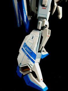 RG Zeta gundam  Custom blue color inspire Kamile Bidan pilot suit  Scale 1/144 Color Vallejo / RS prime  By Pisit T. Nami  27-12-2016