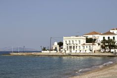 VISIT GREECE| Spetses, #island #atticaislands #Argosaronic gulf #greece #attica Visit Greece, Island, Mansions, House Styles, Islands, Fancy Houses, Mansion, Manor Houses, Mansion Houses