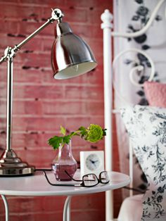 Bedroom lighting - A desk lamp, like BAROMETER, is a great option for bedtime readers and web surfers.