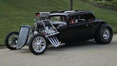 Now this is one sweet hot rod!