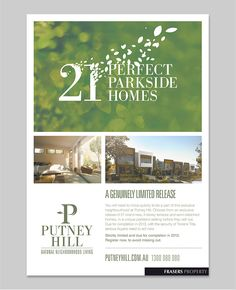 Frasers Property Putney Hill Brochure by Hoyne Design