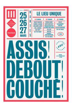 Brest Brest Brest | Assis! Debout! Couché! (Lieu Unique)