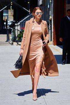 How to Wear the Duster and Mini Like Kim Kardashian West