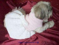 free #crochet #dog #dress