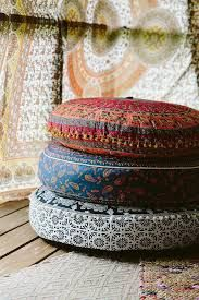 Image result for bohemian seating floor cushions