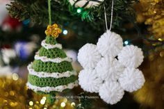 SnowFlakes Ornament free pattern