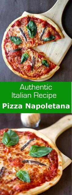 Pizza napoletana or Neapolitan pizza is the original version of the Italian pizza. #Italy #196flavors