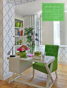 Home office via Home magazine www. 10 Home Office Design Ideas We Love. Home Office Space, Home Office Design, Home Office Decor, House Design, Home Decor, Office Nook, Office Spaces, Design Design, Office Seating