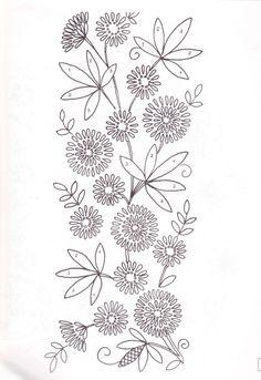 flower stitchery