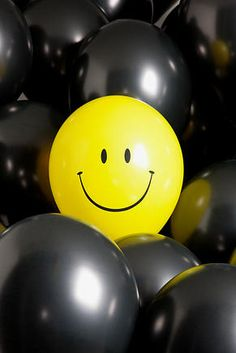 If no one else smiles make sure YOU do!! :D