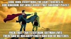 #Batman has a plan.
