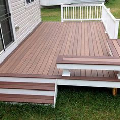 25+ Beautiful Patio Deck Designs Ideas | Deck plans, Decking and Patios
