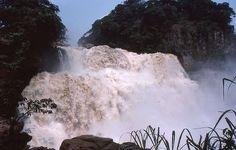 Zongo Falls - near Kinshasa, Congo (Zaire)