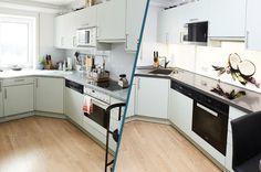 Küchenrenovierung Layout, Kitchen Cabinets, Blog, Home Decor, Old Kitchen, Remodels, Decoration Home, Page Layout, Room Decor