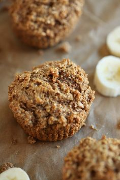 These Banana Nut Bran Muffins are healthy, super delicious and can easily be grabbed on the go for a quick, nutritious breakfast!