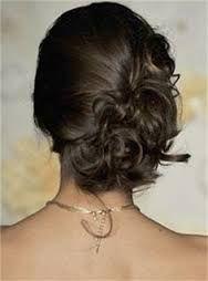 long brunette wedding hair - Google Search