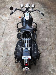 1948 Harley Davidson FL Panhead by Adolph Ogar