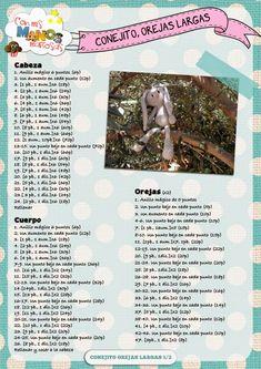 Маленькие длинные уши como hacer un peluche de crochet conejita amigurumi orejas largas- Tutorial DIY paso a paso y patrón gratis – BuzzTMZ Octopus Crochet Pattern, Crochet Patterns Amigurumi, Crochet Dolls, Crochet Stitches, Amigurumi Free, Crochet Game, Diy Crochet, Crochet Crafts, Crochet Projects