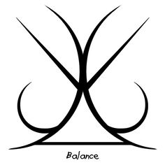 "Anonymous said: I looked through your master list and couldn't find a sigil for ""Balance"" would you mind making me one? Answer: ""Balance"" sigil"
