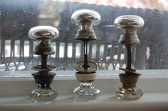 Mercury Glass DoorKnobs by myluckychicken, via Flickr