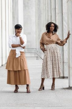 When a business trip and two creatives collide, you know a photo shoot is bound to happen. It was such a blessing to connect with @whoisyvettemarie while in D.C last week. We had a BLAST! Can't wait to see what God has in store for each of us. . . PC: @praya1 #creatorsconnect #influencermeetup #creators #businessandpleasure #cityandsouthernstyle #cityandsouthernlife Over 50 Womens Fashion, Fashion Over 40, Work Fashion, Fashion Tips, Women's Fashion, Mango Clothing, Neutral Outfit, Looking Stunning, Spring Summer Fashion