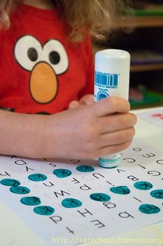 Do-A-Dot Letter Mazes « Shannon's Tot School
