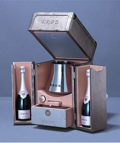 Comment choisir un champagne ? - 8 coffrets de fête - Malles Krug Escape Artist
