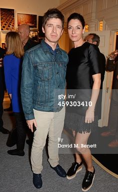 """Noel Gallagher and Mary McCartney attend the book launch and private view of """"Mary McCartney: Monochrome And Colour"""" curated by De Pury De Pury on November 2014 in London, England. Get premium, high resolution news photos at Getty Images Gene Gallagher, Mary Mccartney, Book Launch, Lady Diana, Smart Casual, Oasis, The Book, Fashion Inspiration, Product Launch"""