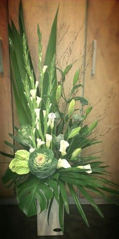 contemporary flower arrangements for church - Google Search