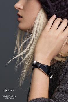 Accessories by Simply Vera Vera Wang for Fitbit Alta. Gps Fitness Tracker, Fitness Gear, Fitness Tips, Fitbit Bands, Best Fitness Watch, Fitness Watches For Women, Fitness Wristband, Fitbit Charge, Fitbit Alta