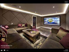 image 17 of 21 cinema wohnzimmer pinterest heimkino filmn chte und kellerraum. Black Bedroom Furniture Sets. Home Design Ideas