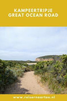 We hebben zin in een kort kampeertripje. En als de Chief Health Officer een heat health alert voor onze streek issued (wij wonen 3 maanden in Maldon, Victoria), is de keuze snel gemaakt: we gaan naar de Great Ocean Road. Scheelt zeker 10 graden. Tot de wind draait…  #reisblog #kampeertrip #australië #kust Nars, Country Roads, Ocean, The Ocean, Sea