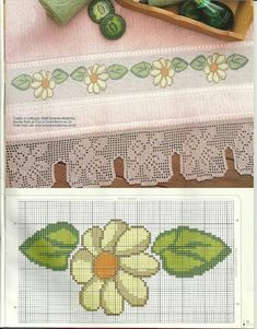 Flor Cross Stitch Boards, Just Cross Stitch, Cross Stitch Baby, Cross Stitch Flowers, Cross Stitching, Cross Stitch Embroidery, Cross Stitch Patterns, Hand Embroidery Patterns, Sewing Crafts