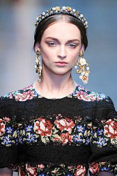 Коллекция Dolce Gabbana осень - зима 2012-2013 - Ярмарка Мастеров - ручная работа, handmade