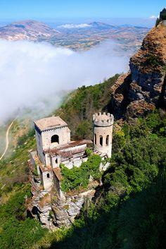 Castello di Venere, Erice, Sicily, Italy #erice #sicilia #sicily