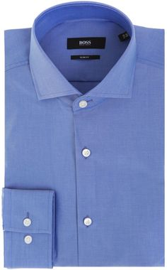 30640a4a5 Hugo Boss blue suit. Simple and neat design & simple blue color, but good