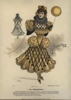 Isisu0027 Wardrobe Late 19th century masquerade costumes  sc 1 st  Pinterest & From the 1887 edition of Fancy Dresses Described: or What to wear ...