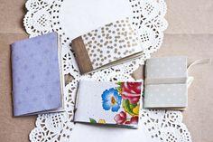 Mini Notizheft Vintage von bär von pappe auf DaWanda.com