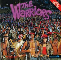 misterhulot:    The Warriors (1979) Laserdisc cover