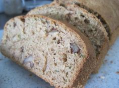 "Zucchini Bread: ""This bread can be easily thrown together in one bowl and is very moist — perfect for a snack at work or school!"" -Sackville"