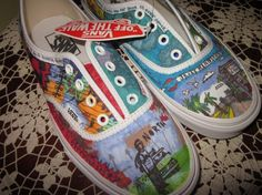 Andrew McMahon Shoes RESERVED for ashbebaw by NomromDesigns