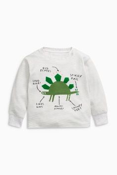Buy Green Dinosaur Snuggle Pyjamas Three Pack (9mths-8yrs) from the Next UK online shop