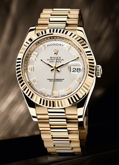 Times change ROLEX Presidential