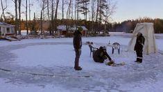 Coooooool........Ice carousel