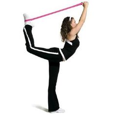 Great article with tips on how to be more flexible. Image 8: Stretching for Splits/Arabesque