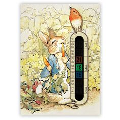 A6 Nursery and Childrens Peter Rabbit Baby Room Thermometers