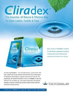 facial cleanser Cliradex Natural Eyelid, Eyelash, and Facial Cleansing Towelettes, Box of 24 * Click image for more details. Skin Tag On Eyelid, Skin Tags On Face, Face Skin, Eye Stye Remedies, Eczema Remedies, Healthy Eyes, Facial Cleansing, Skin Care Tips, Eyelashes