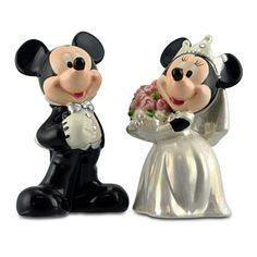 Wedding Minnie and Mickey Mouse Salt and Pepper Set | Kitchen Essentials | Disney Store